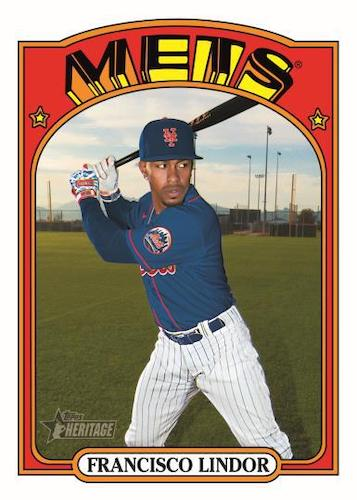 2021 Topps Heritage High Number Baseball Cards 1