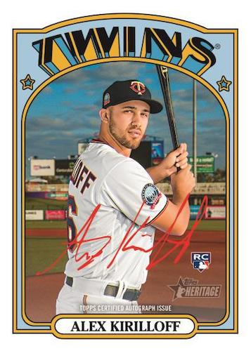 2021 Topps Heritage High Number Baseball Cards 8