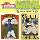2021 Topps Heritage High Number Baseball Cards