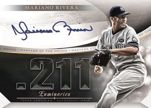 2021 Topps Luminaries Baseball Cards 1