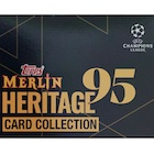 2021 Topps Merlin Heritage 95 UEFA Champions League Soccer Cards