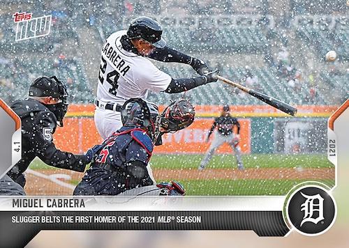 2021 Topps Now Baseball Cards Checklist 2