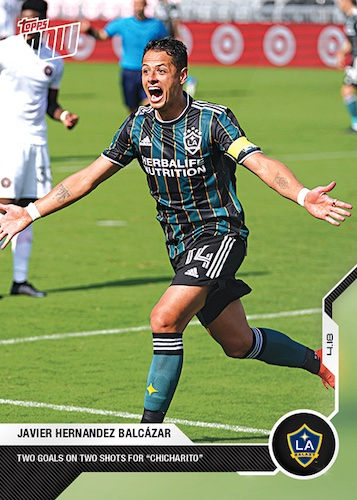 2021 Topps Now MLS Soccer Cards Checklist 3