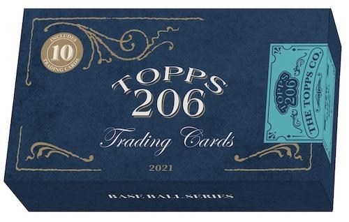 2021 Topps T206 Baseball Cards 3