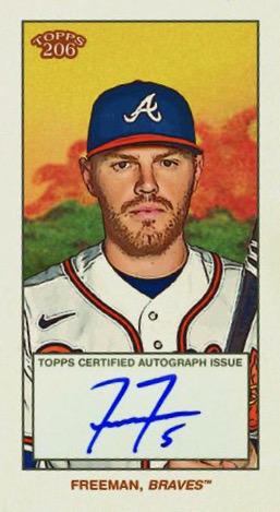 2021 Topps T206 Baseball Cards 2