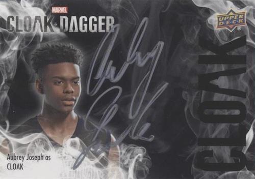 2021 Upper Deck Cloak & Dagger Season 1 Trading Cards 1