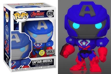 Funko Pop Avengers Mech Strike Figures 2