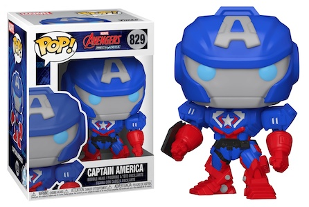 Funko Pop Avengers Mech Strike Figures 1