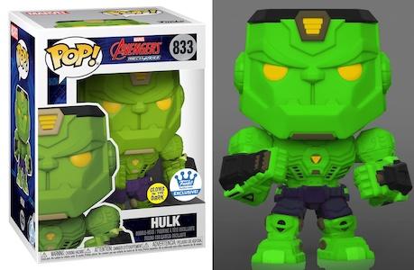Funko Pop Avengers Mech Strike Figures 8