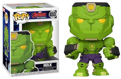 Funko Pop Avengers Mech Strike Figures 7