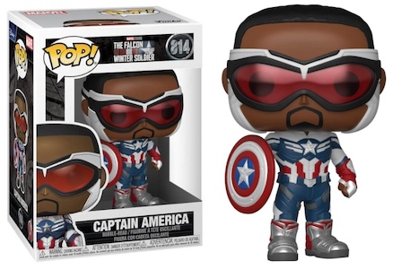 Funko Pop Falcon and the Winter Soldier Figures 7