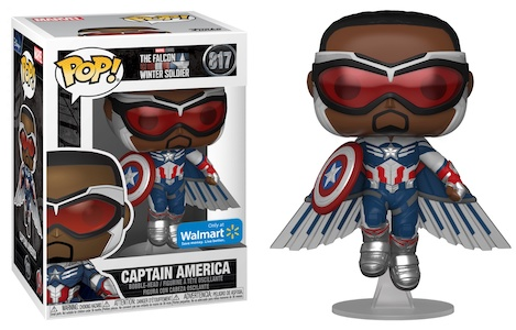 Funko Pop Falcon and the Winter Soldier Figures 10