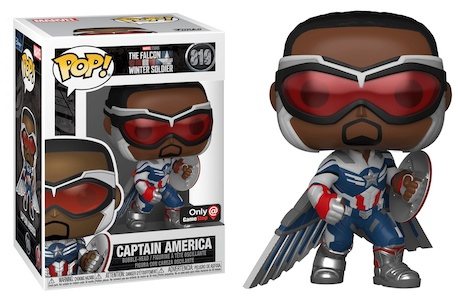 Funko Pop Falcon and the Winter Soldier Figures 12