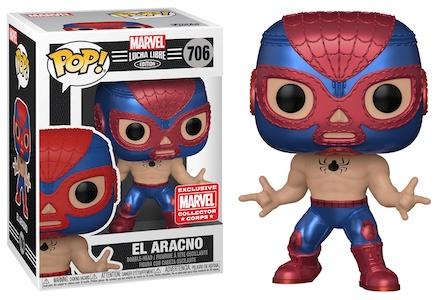 Funko Pop Marvel Lucha Libre Luchadores Figures 2