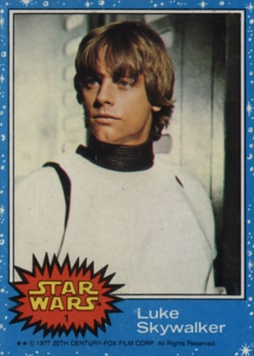 1977 Topps Star Wars Series 1 Trading Cards 3
