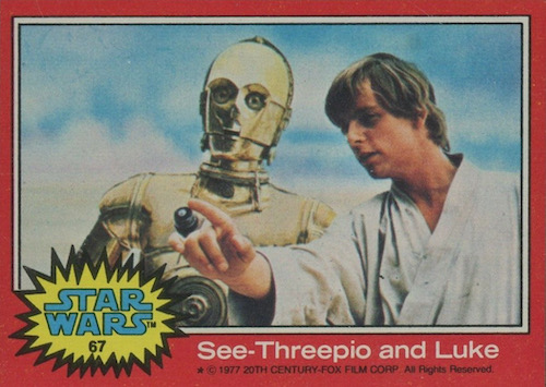 1977 Topps Star Wars Series 2 Trading Cards 3