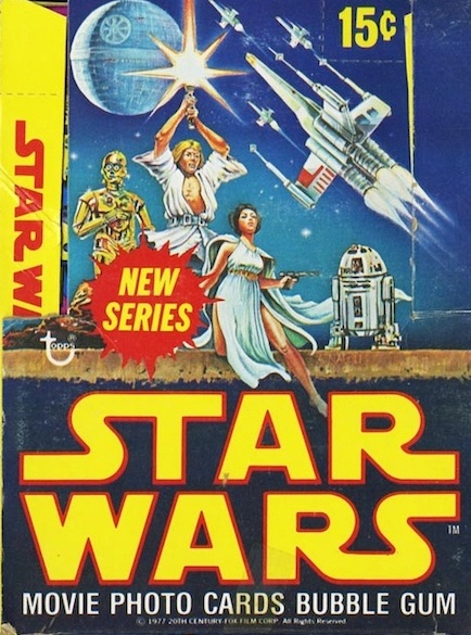 1977 Topps Star Wars Series 2 Trading Cards 6
