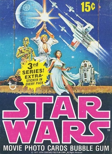 1977 Topps Star Wars Series 3 Trading Cards 6
