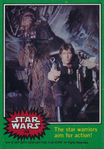 1977 Topps Star Wars Series 4 Trading Cards 3