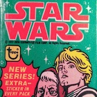 1977 Topps Star Wars Series 4 Trading Cards