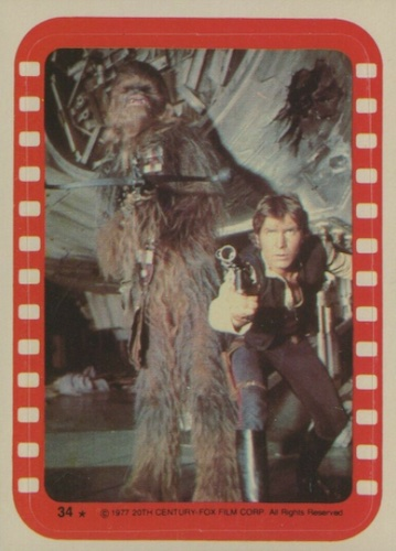 1977 Topps Star Wars Series 4 Trading Cards 5