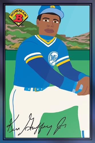 2021 Topps 1989 Bowman X Keith Shore Baseball Cards - Wave 4 Checklist 2