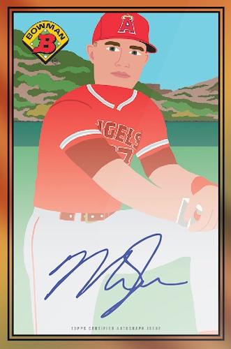 2021 Topps 1989 Bowman X Keith Shore Baseball Cards - Wave 4 Checklist 3