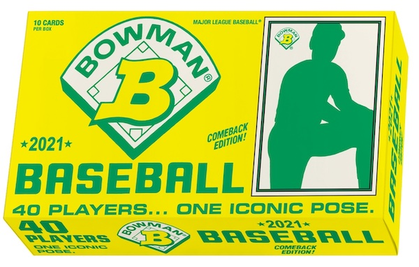 2021 Topps 1989 Bowman X Keith Shore Baseball Cards - Wave 4 Checklist 5