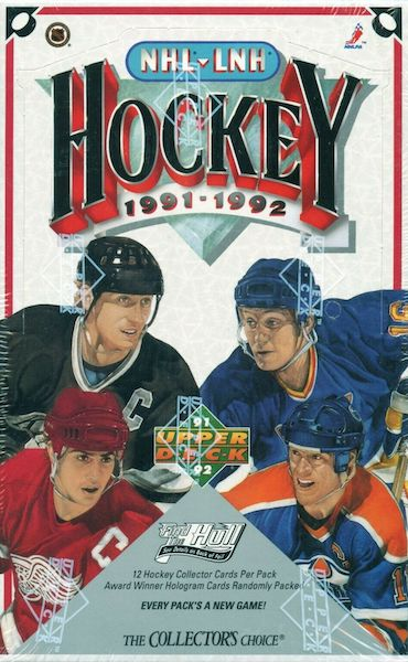 1991-92 Upper Deck Hockey Cards 7
