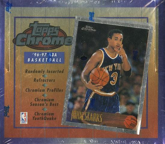 1996-97 Topps Chrome Basketball Cards 5