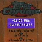1996-97 Topps Chrome Basketball Cards