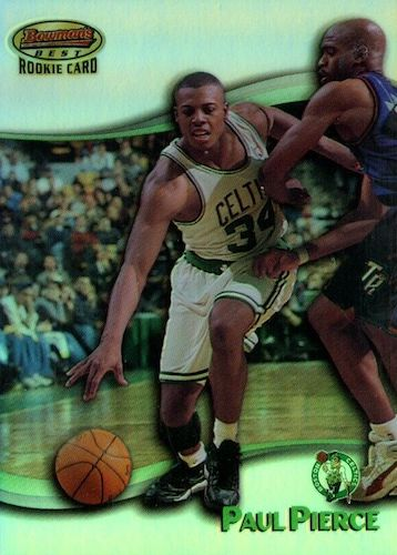 Ultimate Paul Pierce Rookie Cards Gallery and Checklist 1