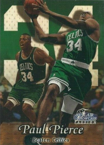 Ultimate Paul Pierce Rookie Cards Gallery and Checklist 3