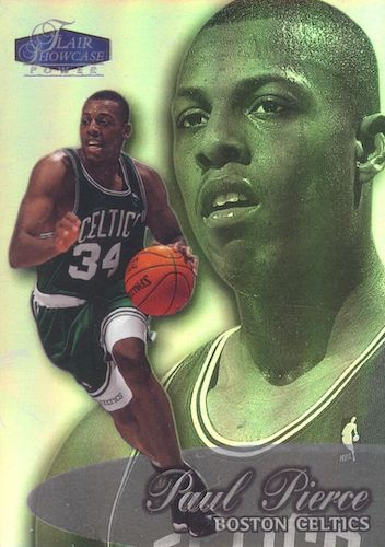 Ultimate Paul Pierce Rookie Cards Gallery and Checklist 2