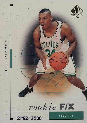 Ultimate Paul Pierce Rookie Cards Gallery and Checklist 10