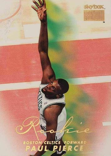 Ultimate Paul Pierce Rookie Cards Gallery and Checklist 9