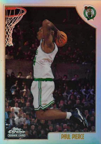 Ultimate Paul Pierce Rookie Cards Gallery and Checklist 13