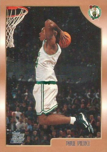 Ultimate Paul Pierce Rookie Cards Gallery and Checklist 12
