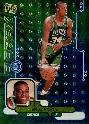 Ultimate Paul Pierce Rookie Cards Gallery and Checklist 19