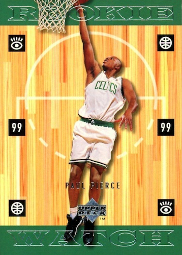 Ultimate Paul Pierce Rookie Cards Gallery and Checklist 16