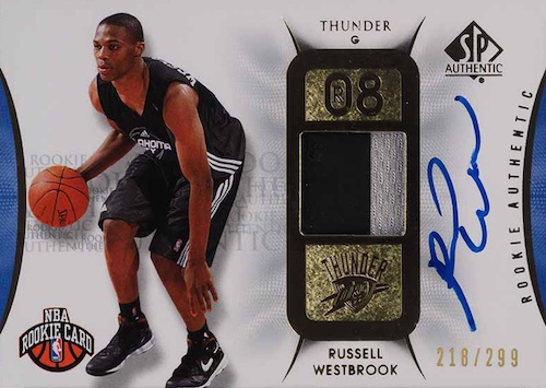 Top Russell Westbrook Rookie Cards to Collect 13