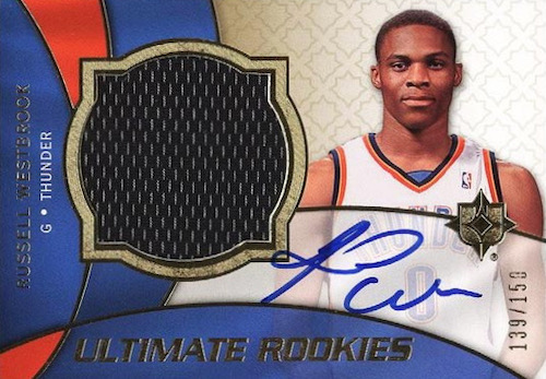 Top Russell Westbrook Rookie Cards to Collect 11