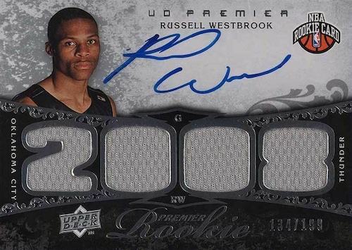 Top Russell Westbrook Rookie Cards to Collect 10