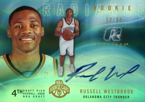 Top Russell Westbrook Rookie Cards to Collect 6