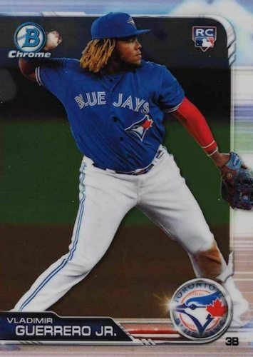 Top Vladimir Guerrero Jr. Rookie Cards and Prospects 1