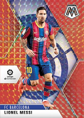 2020-21 Panini Mosaic La Liga Soccer Cards 3