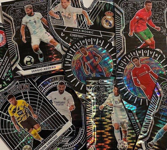 2020-21 Panini Obsidian Soccer Cards - White Pulsar Packs 3