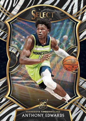 2020-21 Panini Select Basketball Cards - Checklist Added 3