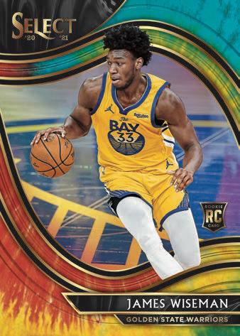 2020-21 Panini Select Basketball Cards - Checklist Added 5