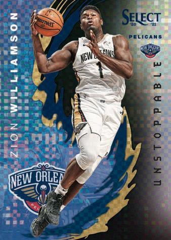 2020-21 Panini Select Basketball Cards - Checklist Added 9